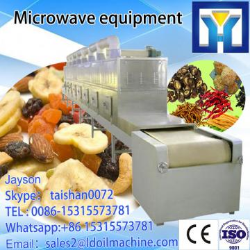 microwave drying machine for talcum powder