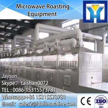 Tunnel type Microwave Mango/mango Slices dry/roasting and sterilizer machine