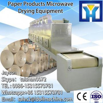 Big capacity tunnel type sardines drying/microwave dryer machine