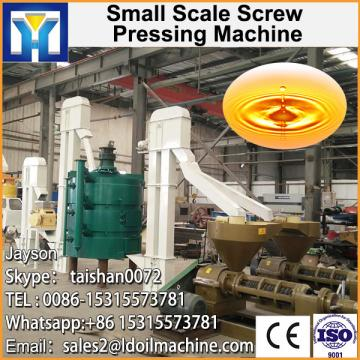 Edible palm oil refinery equipment with ISO and CE