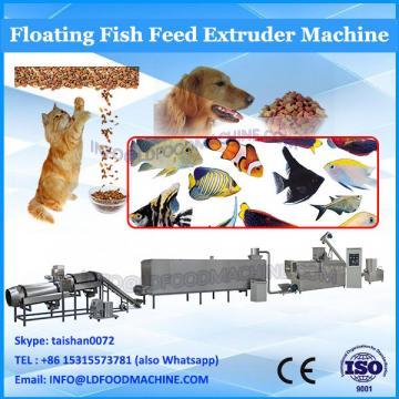 High capacity floating fish feed machine