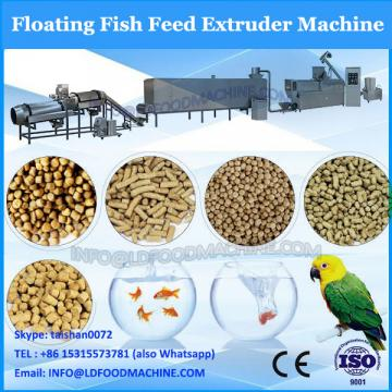 Floating feed type/fish feed extruder dry type/tilapia and catfish floating feed extruder