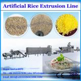 good taste low consumption durable 100-500kg/h extruded artificial rice machine