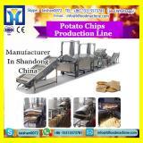 Big scale industrial potato chips production line / automatic frozen french fries production line for frozen potato machine