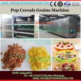 Directly expanded snacks ready to eat breakfast cereal making machine
