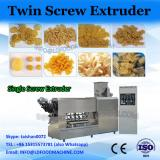 Parallel twin screw plastic extruder for PET granulating