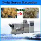 Twin screw pipe extruder