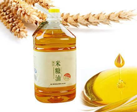 Functional rice bran oil