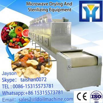 Big capacity tunnel type sardines drying/microwave dryer machine