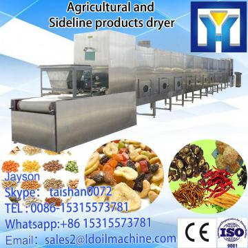 oats/cereal drying and tserilization machine