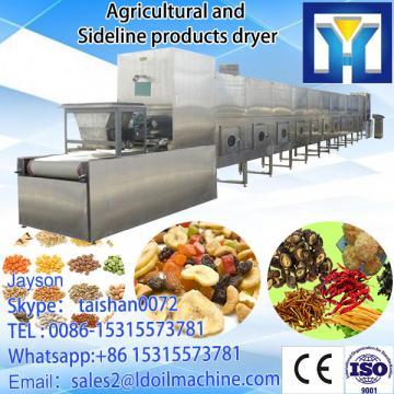 Tunnel type egg yolk powder microwave dryer sterilizing machine--factory price