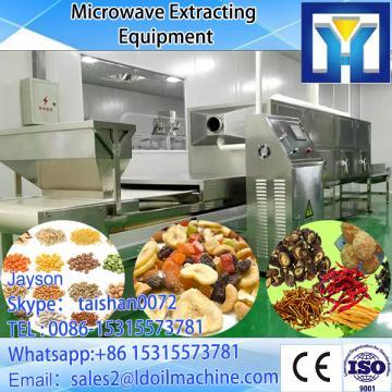 tunnel continuous conveyor belt type beef jerky microwave dryer