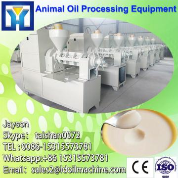 The good crude sunflower oil refinery with equipment
