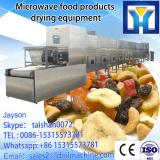 High quality microwave tunnel type corn  drying roaster equipment