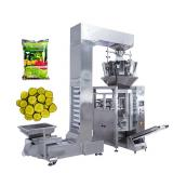 Full Automatic 10 Head Weigher Dried Fruit Food/ Pasta/Noodle Weighing Filling Packing Packaging Bagging Machine Line